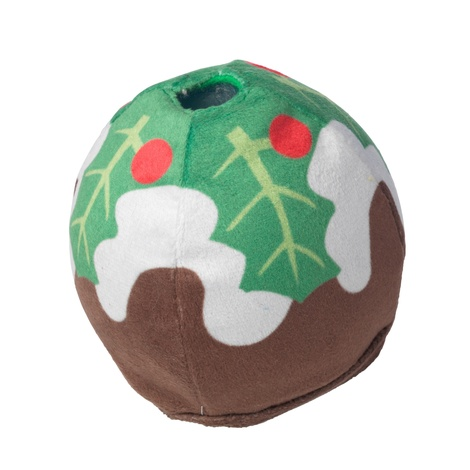 Party Game Christmas pudding ball Treat dispenser
