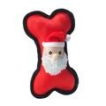 Santa Dog Bone Toy