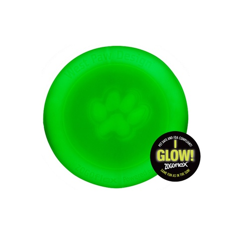 Zogoflex® Zisc Flying Disc – Glow