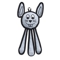 Dangles Bunny Squeaky Dog Toy