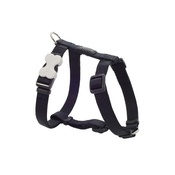 Red Dingo - Plain Dog Harness - Black