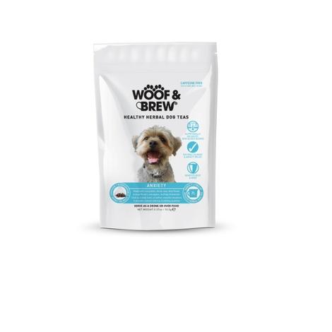 Woof & Brew Anxiety Herbal Dog Tea (7 bags)