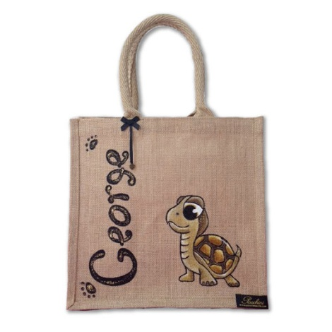 Bespoke Poochini Original Bag - Natural 3