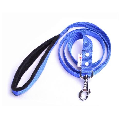 Fleece Comfort Dog Lead – Royal Blue