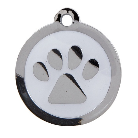 My Sweetie White Paw Pet ID Tag
