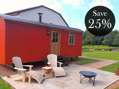 Shepherd's Hut, Parkway Hotel and Spa, Wales