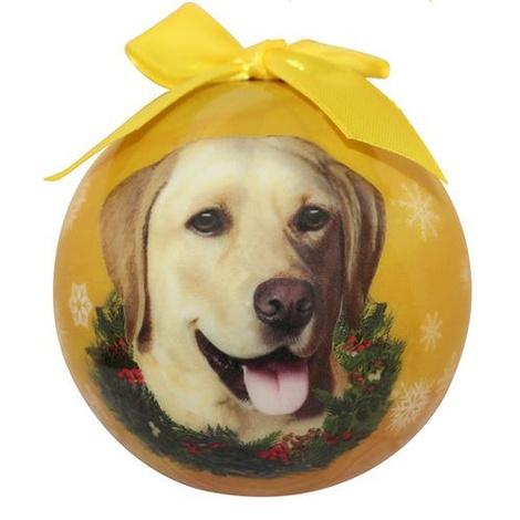 Yellow Labrador Christmas Bauble