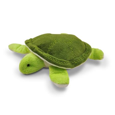 Green Sea Turtle Plush Squeaky Dog Toy