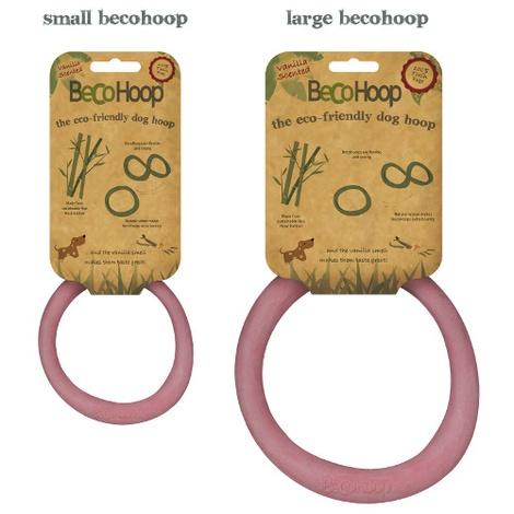 BecoHoop Dog Toy - Pink 2