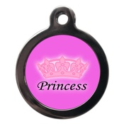 PS Pet Tags - Princess Dog ID Tag