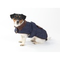 Quilted Country Dog Coat – Navy 2