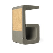 Catworks - Scratching Post - Letter G - Grey