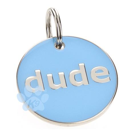 K9 Dude Dog ID Tag