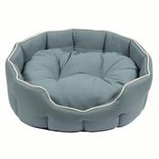 Kudos - Kudos Kingston Oval Pet Bed in Duck Egg Blue