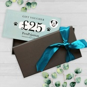 PetsPyjamas - £25 Travel Gift Voucher in a Gift Box