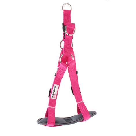 Padded Bold Harness - Pink