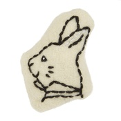 Cheshire & Wain - Wonderland Collection Catnip Toy – White Rabbit