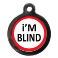 I'm Blind Pet ID Tag