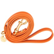Chihuy - Orange and Gold Luxury Leather Lead