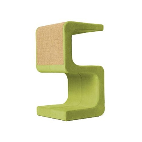Scratching Post - Letter S - Green