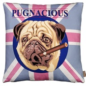 The Graduate Collection - Pugnacious Cushion
