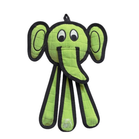 Dangles Elephant Squeaky Dog Toy