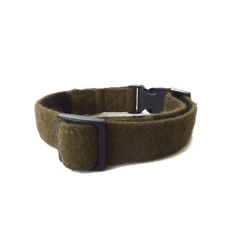 Wool Collar - Khaki Green