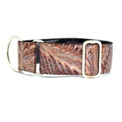 "Let Sleeping Dogs Lie - Venice Sighthound Collar 1.5"" Width"