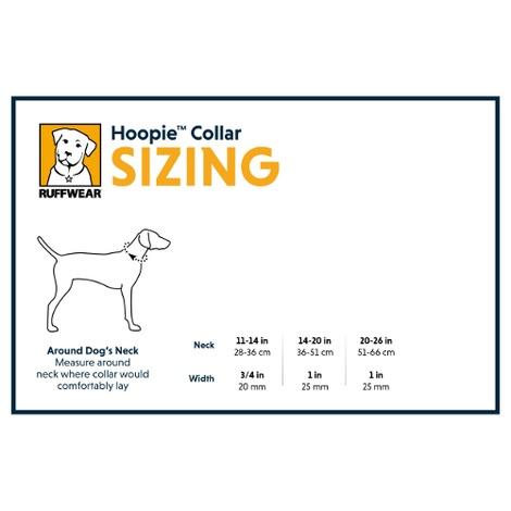 Hoopie Dog Collar - Obsidian Black 2