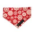 Christmas Snowflake Slip-on Bandana