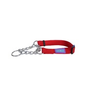 Hem & Boo - Nylon Dog Training Collar - Red