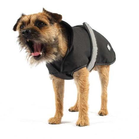 Reflective Dog Coat - Black 3