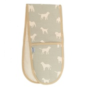 Mutts & Hounds - M&H Powder Blue Oven Gloves
