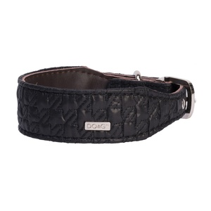 DO&G Silk Expressions Dog Collar - Black