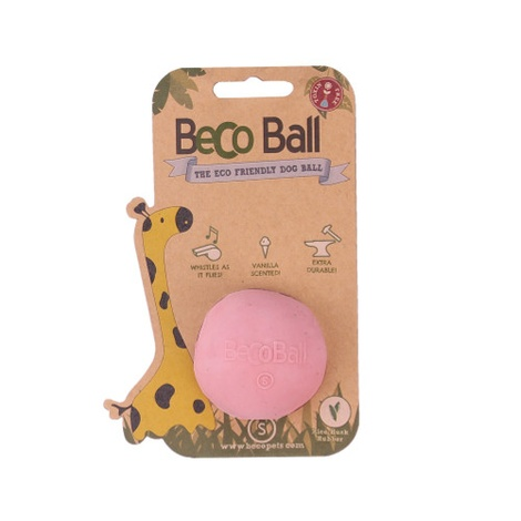 BecoBall Dog Toy - Pink 2