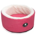 Cool Cat Snuggle & Snooze Pet Cat Bed in Pink 2