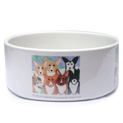 Cindy Lass - Corgi Dog Bowl