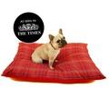 Henry Holland Red Tartan Dog Bed 5