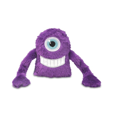 Purple Snore Monster Plush Dog Toy