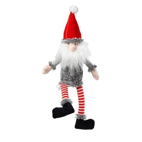 Silent Night Santa Plush Dog Toy