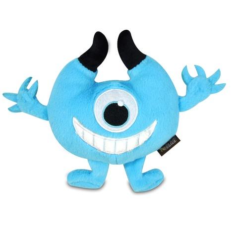Blue Chomper Monster Plush Dog Toy