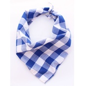 Pet Pooch Boutique - Southern Blue Plaid Dog Bandana