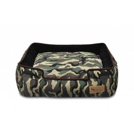 Camouflage Lounge Dog Bed  2