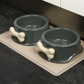 Ceramic Dog Food Bowl 2