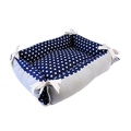 Tabby Chic Polka Dot Reversible Cat Bed