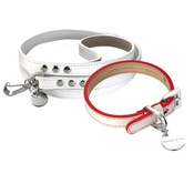 Hennessy & Sons - Polo Club Dog Collar & Lead Set - Red Edging