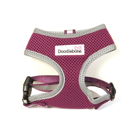 Reflective Airmesh Dog Harness – Purple 2