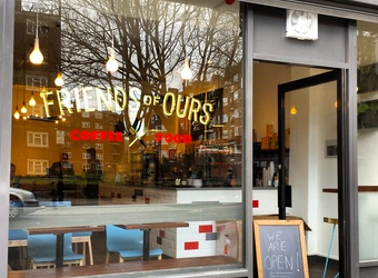 Friends Of Ours - Hoxton - N1 6BU