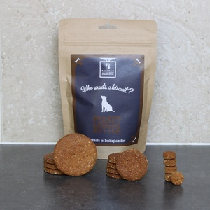 Peanut Butter Dog Biscuit Treats