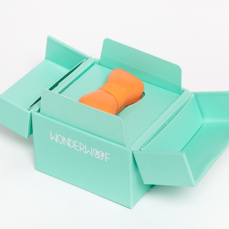 Wonderwoof Bow Tie Activity Tracker – Orange 9